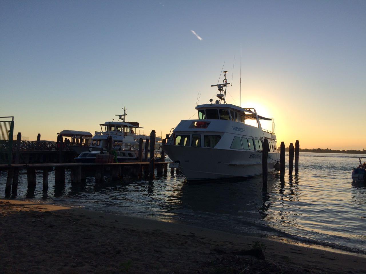In barca per le escursioni alle isole della laguna di Venezia